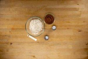 Ingredientes receta galletas de chocolate intenso